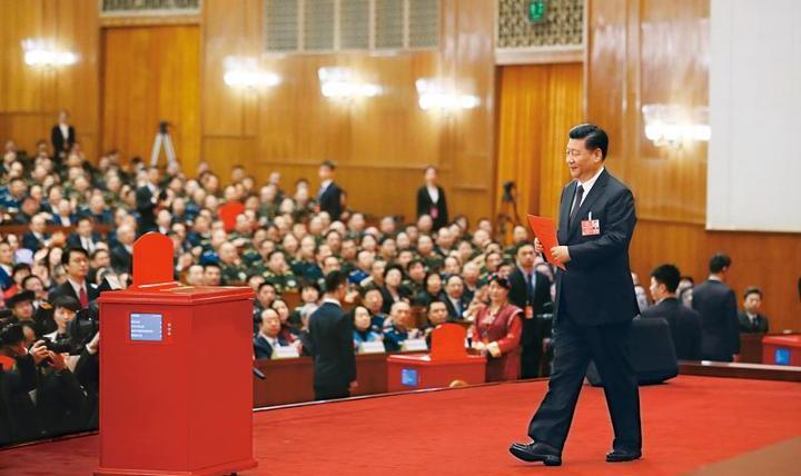 在庆祝全国人民代表大会成立六十周年大会上的讲话