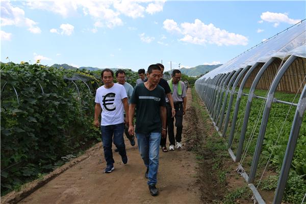 1.组织村干部参观产业项目.JPG